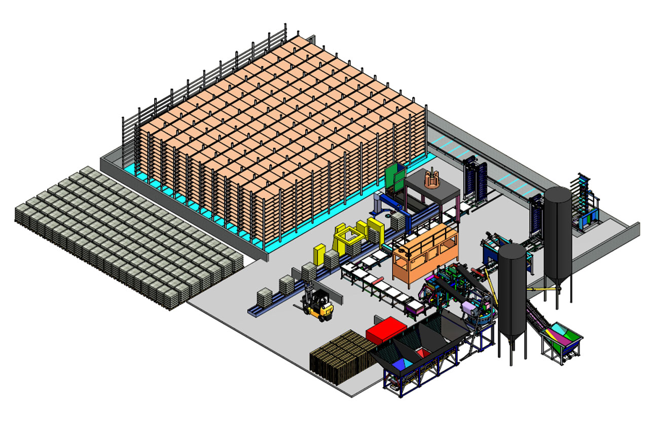 VPS 5000 plant layout