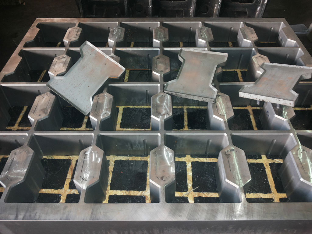 Thermal mold processing